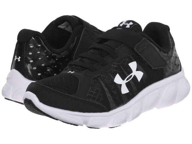 100% authentic 5aec9 e7057 Under Armour 1266384-001 Little Boys Pre-school UA Assert 6 AC Running Shoes  12