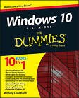 Windows 10 All-in-One for Dummies by Woody Leonhard (Paperback, 2015)