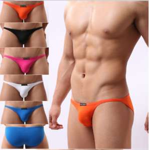Brave-Person-NEW-Men-039-s-Mini-Briefs-Bikini-Beachwear-Underwear-Size-S-M-L