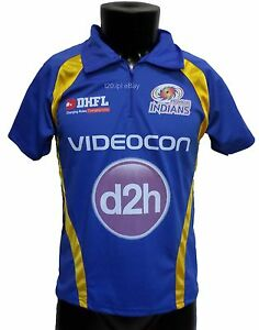 Image is loading IPL-Mumbai-Indians-2017-Jersey-Shirt-T20-Cricket-