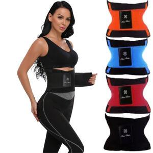 Damen-Fitness-Bauchwegguertel-Abnehmen-Schwitzguertel-Schlankguertel-Shapewear-HDV