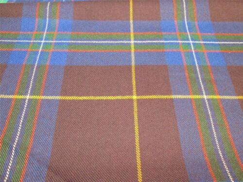 10oz Tartan Made in Scotland 100/% Pure New Wool
