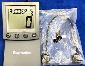 Raymarine-Raytheon-ST60-Multi-Instrument-Repeater-NMEA-Depth-Speed-Wind-Display