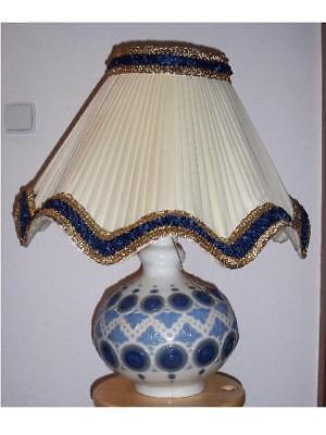 Neueste Kollektion Von Lladro Tischlampe Blue Full Moon 14782, Sehr Selten