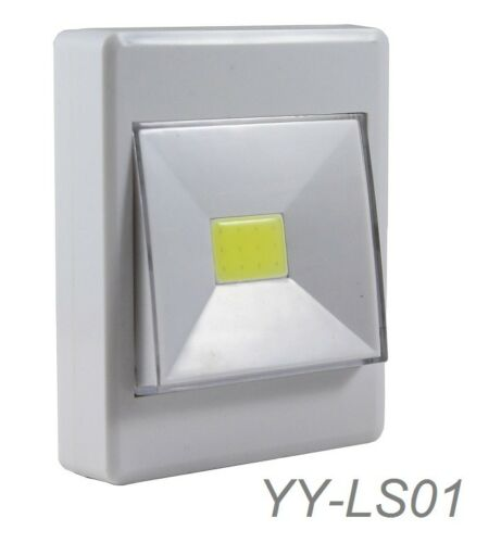 1-Piece 200 Lumen Pivoting Cordless Large Pivot On//Off Illuminated Light Switch