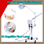 thumbnail 1 - 3in1-Ozone-Facial-Steamer-LED-5X-Magnifier-Floor-Lamp-Multifunction