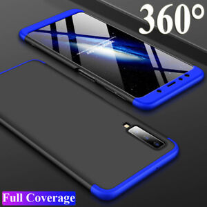 various colors 46fbb cbc3f Details about For Samsung Galaxy A7 2018/A750 J4 J6 Plus Case 360° Full  Protective Armor Cover