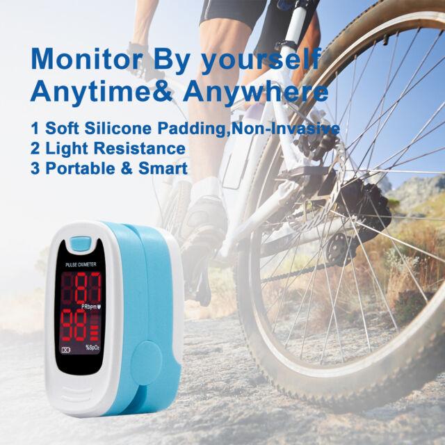Finger Pulse Oximeter Blood Oxygen Monitor LED SPO2 Pulse Rate Heart Meter CE