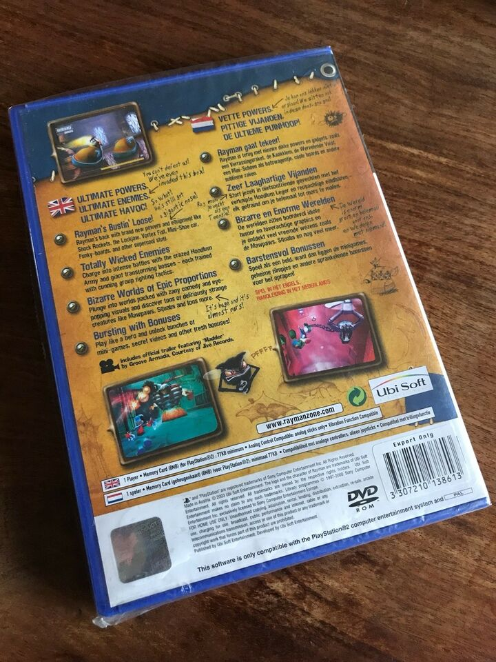 Rayman Hoodlum Havoc, PS2, action