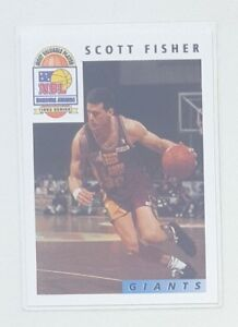 1993-Futera-NBL-Australian-Basketball-Honors-Awards-1-of-11-Scott-Fisher