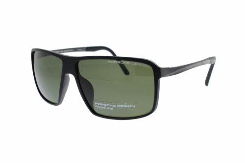 Grey Green Polarized P8650 A 60 PORSCHE DESIGN TITANIUM Black