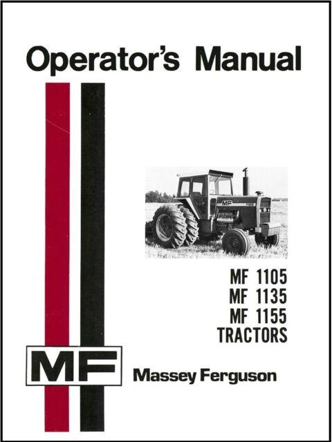 massey ferguson tractor 1135  sale brochure 2 page