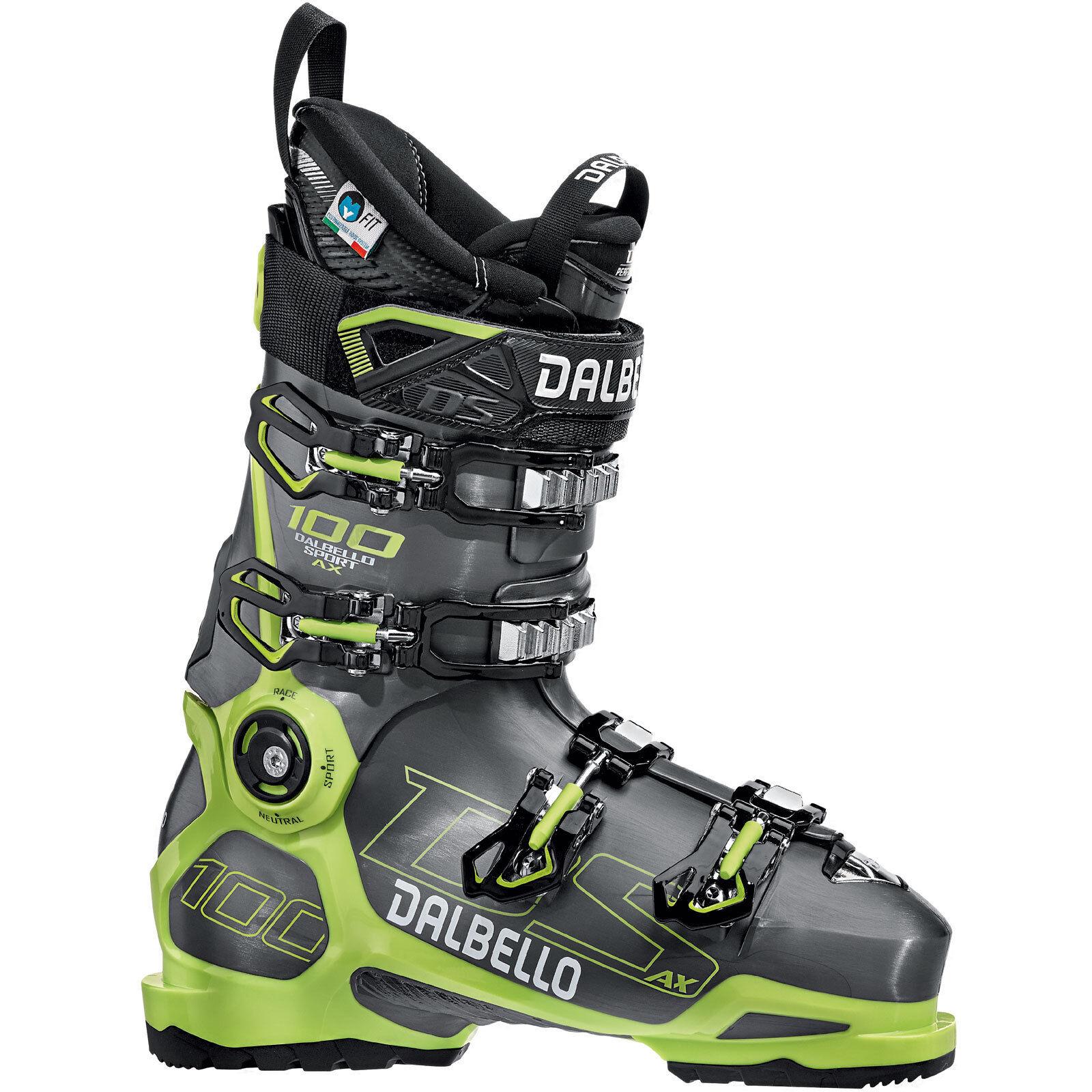 Dalbello DS AX 100 MS Herren-Skistiefel Ski Stiefel Stiefel Skischuhe Schuhe Alpin