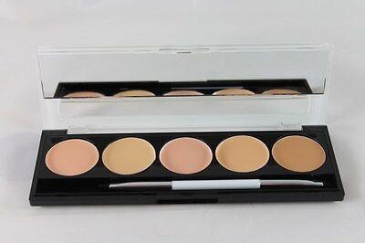 W7 Camouflage Kit Cream Concealer Palette Mirror & Brush World Wide FREE Postage