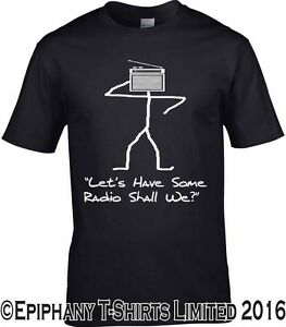 RADIOHEAD-Inspirado-Camiseta-Vamos-a-Have-Some-Radio-SHALL-WE-DISENO-ORIGINAL