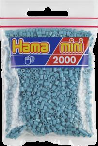 501-31 Confezione di 2000 Perline Hama Mini-Turchese