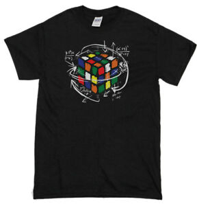 Rubix-039-s-Cube-EQUATION-T-Shirt-Mens-Funny-T-Shirts