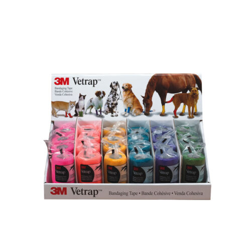 3M Health Care Vetrap 10Cm Display Pack