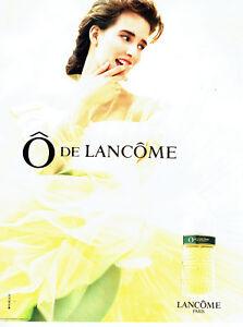 Sur Publicité Femme 1990 Advertising 018 Parfum Détails Lancome O De oWQBrdCex