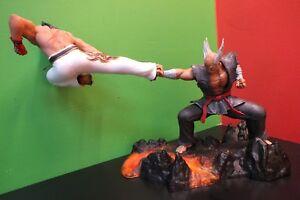 Details About Tekken 7 Statue Action Figure Kazuya Vs Heihachi Collector S Edition 12 X 18