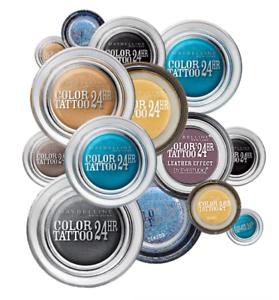 MAYBELLINE-Color-Tattoo-24hr-Gel-Cream-Eye-Shadow-Choose-Shade-NEW-Sealed