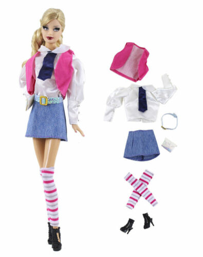 New 4 PCS Fashion Handmade Evening Clothes//Outfit For 11.5in.Doll P30