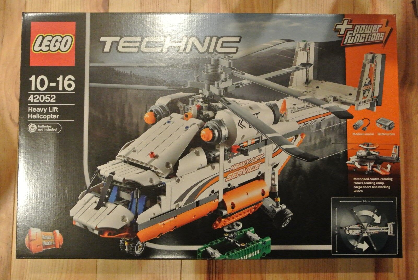 Lego Technic 42052 - Heavy Lift Helicopter- POWER FUNCTIONS   - BRAND NEW