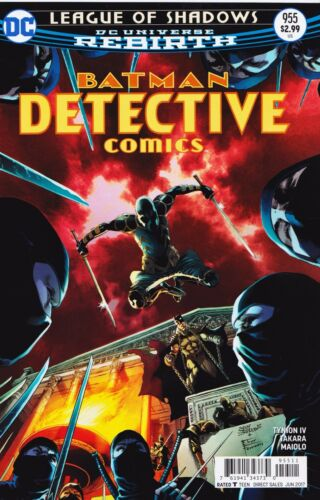 2016 DC Universe Rebirth #955 New Bagged DETECTIVE COMICS
