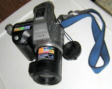Sony Mavica MVC-FD95 2.1 MP Digital Camera - Black & Metallic gray