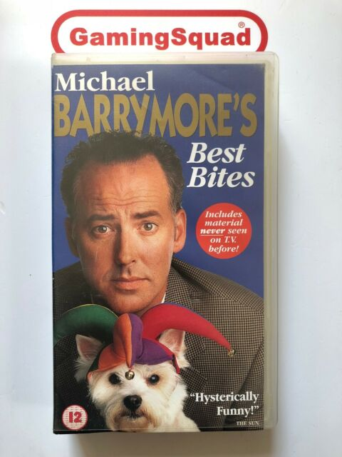 Michael Barrymore's Best Bites VHS Video Retro, Supplied by Gaming Squad Ltd