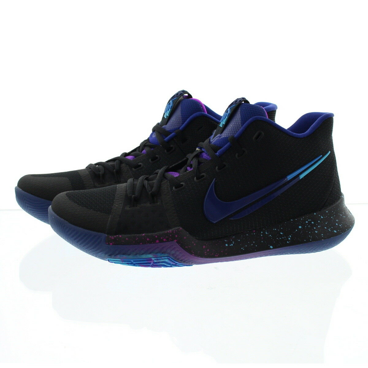 ec2e26bfb4b ... Nike 852395 Mens Zoom Kyrie 3 Mid Top Top Top Basketball Athletic Shoes  Sneakers 7c28ac ...