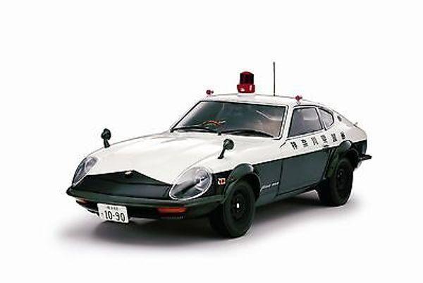 1 18 KYOSHO 08216 a NISSAN FAIRLADY 240zg  Police Kanagawa PREF (hs30a) 1972-Rar  aucune hésitation! achetez maintenant!