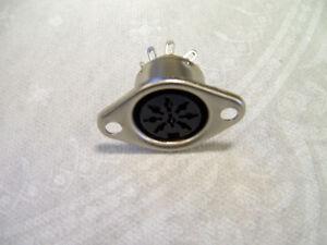 770 2 X 8 Pin Din Chasis de Metal zócalos de audio