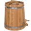 Oak Barrel Roll Wooden Keg Cask Honey Tank Canisters Jar 15L//3.9Gal Spirits Wine