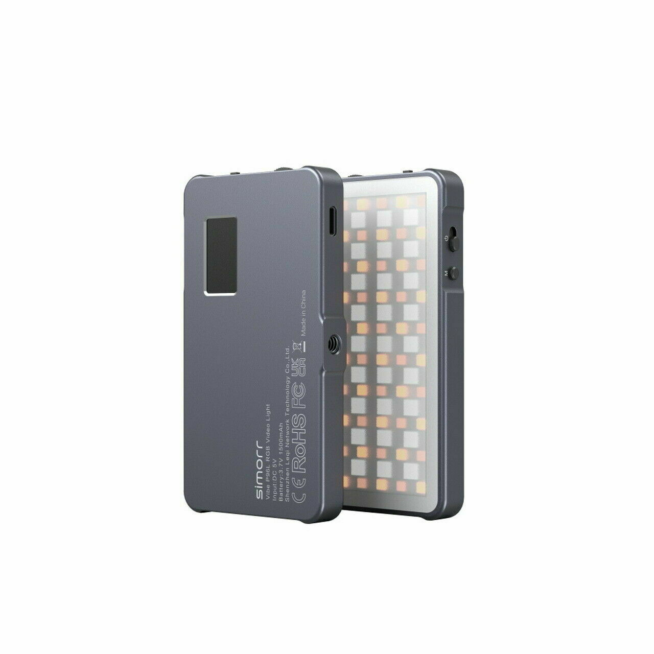 simorr Lightweight Vibe RGB Video Light (21 kinds of light effects) 3489 P96L