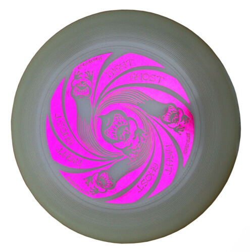 Ultimate Frisbee Discraft Ultra Star NIGHT GHOST 175g nachtleuchtend Fuchsia