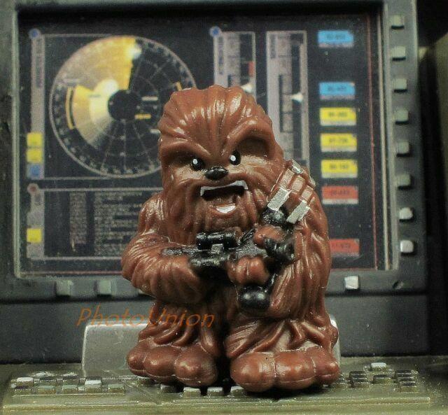 Hasbro Star Wars Fighter Pods Micro Heroes Han Solo Chewbacca Wookiee Model K815