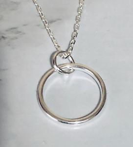Circle-Sterling-Silver-Pendant