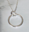 thumbnail 1 - Circle-Sterling-Silver-Pendant