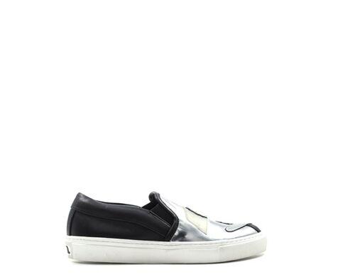 Femme Nero Chaussures pu Karl 999 Cuir Naturel Lagerfeld 71kw4028 wgqnPqA7x