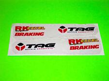 KX CR RM YZ 50 65 80 85 100 EXCEL RIMS RK CHAIN TAG METALS SWINGARM STICKERS