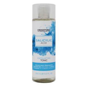 Creighton Salicilico Acido esfoliante Tonico adatto a macchia incline pelle.
