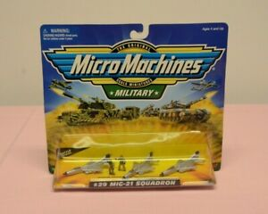 Micro-Machines-Military-MIG-21-Squadron-29-Galoob-New