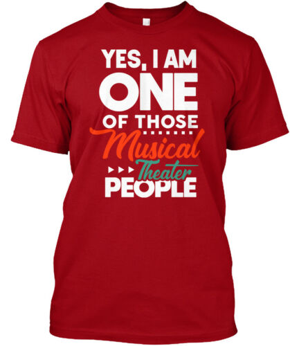 Proud Musical Theater Gifts Hanes Tagless Tee T-Shirt