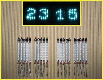 20 x ivlm1-1/7 (IV-25) VFD tubes. Set for NIXIE ERA clock!!! NEW & NOS (RARE!!!)