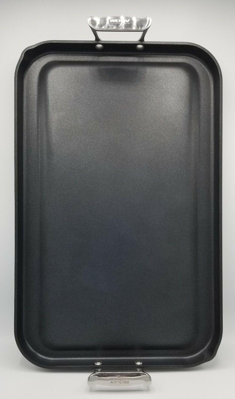 Tout-CLAD 13 X20  épais en Aluminium anodisé dur antiadhésif grande Crêpière