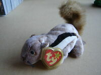 CHIPPER the CHIPMUNK TY BEANIE BABY  new