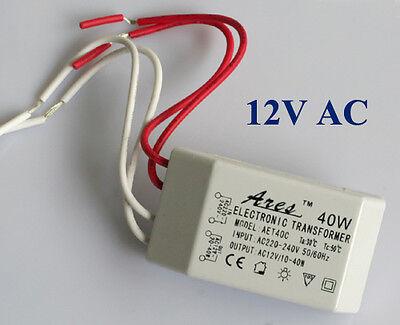 Neu 40W Trafo Transformator Treiber für G4 MR16 12V Lampe Licht super