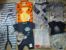 **AMAZING**56x NEW BUNDLE OUTFITS TIGER WINNIE BABY BOY 0/3/6 MTHS(3.5)NR855