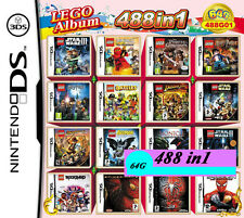 488 games in one cartridge Nintendo 2DS NDS DSLITE/DSi/3DS Xl Multigame card